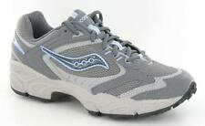 LADIES SAUCONY TRAINERS GRIZZLY APPROACH GREY/BLUE
