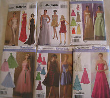 Misses' Formal Evening Dress Gown Pattern~Elegant,Party,Prom,Bridesmaid~Bolero