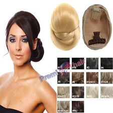 Hairpiece clip in on Valley synthetic Bun Instant Updo Hair piece Chignon