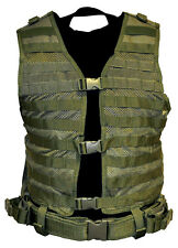 NcSTAR PVC Airsoft Wars Molle PALS Vest **GREEN**