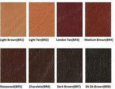 BROWN 50-250 ML Leather Colour Coat Re-Colouring / Dye Stain Pigment Paint --