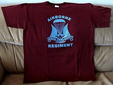 Canada Army Canadian Airborne Regiment  Maroon  T-Shirt