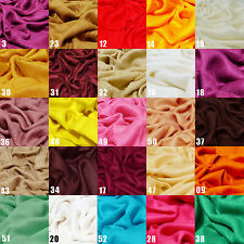 100% Viscose Plain Pashmina Scarf Stole Wrap Shawl High Quality Many Colours