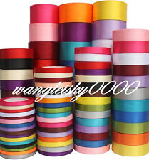 25 yards satin ribbon wedding craft sewing decorations various colour and width