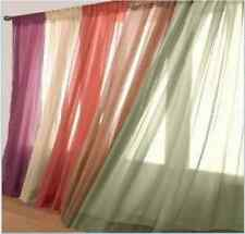 """Zebra, Leopard, Solid Sheer voile window panels curtain scarf valance 55X216"""""""