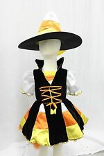 Candy Corn Fairy Hat Boutique Complete Costume Girls Toddler Halloween NEW