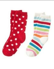 GYMBOREE COZY CUTIE STRIPE N DOT EXTRA COZY SOCKS 3 4 5 7 8 9 NWT