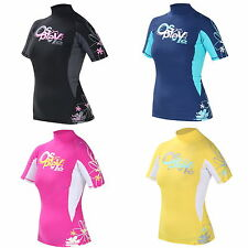 OSPREY CHRISTI WOMENS LADIES RASH VEST RASH GUARD diving jetski bodyboard swim