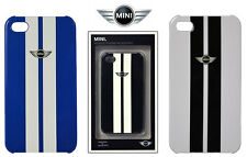 Mini Cooper OFFICIAL iPhone 4 4S Phone Hard Case Cover Metallic Stripe - GIFTS -