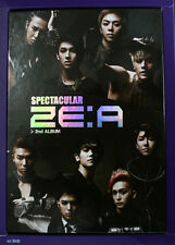 ZE:A (ZEA) - Spectacular (2nd Album) CD + Photobook + Poster + Free Gift