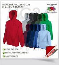 Fruit of the Loom Kapuzen Sweatshirt in 17 Farben- S, M, L, XL und XXL *SALE*