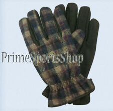 PRIME REAL LEATHER AND 100% WOOL GLOVES MEN'S SIZE M - L - XL Large Medium