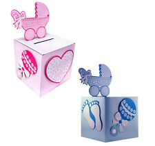 BabyShower Wishing well card, gift or money box BOY/GIRL party ideas CD415 1 box