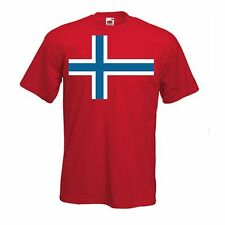 Norway International T Shirt - Support Your Country T-Shirt Sport Flag