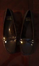 MOOTSIE TOOTSIE WOMEN BROWN FLAT SHOES LOAFERS SIZE 9M