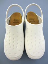 "Scholl Ladies Flat Profession Work Shoe ""PROFESSIONAL"" White EU 34/35"