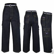 New Boy Quality Cotton Jeans 8 pockets outfits size 6(6-7 years),8(8-9 years)