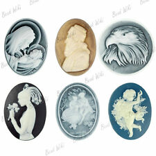 Resin flowers Cabochons 18x18 flatback cameo wholesale RB0676
