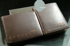 Mens real Leather Wallet Pockets Card Clutch Cente Bifold Purse W95