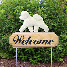 Bichon Frise  Welcome Sign Stake. Home,Yard & Garden Decor. Dog Products & Gifts