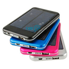5000mAh Mobile Solar Power Bank External back up Battery Charger for iPad/iPhone