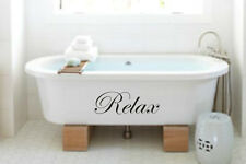 Bathroom, Bath RELAX decal / sticker