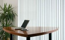 Made to Measure patterned Vertical blinds white or cream jacquard fabric