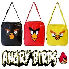 Official Angry Birds School Messenger Despatch Bag Red Black Yellow