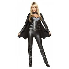 Sexy Bat Warrior Adult Womens Batwoman Batgirl Superhero Girl Halloween Costume