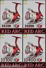 Spro Red Arc 10200 10300 10400 Stationärrolle Frontbremse Aluspule Spinnrolle