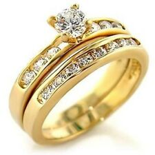 1.00ct classic Womens Wedding/Engagement RING SET Size 5,6,7,8,9,10