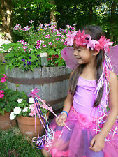 GIRL'S FAIRY COSTUME. Birthday Theme, Halloween, or Play Dress-up