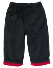 GYMBOREE SNOW CHILLIN NAVY LINED ACTIVE PANTS 6 12 18 24 NWT