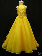 Girl Pageant Wedding Flower Girl Prom Formal Party Dress sz:3 4 5 6 7 8 10 12 14