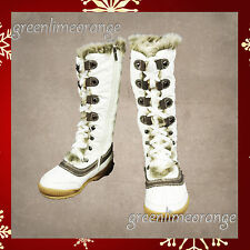 NEW WOMEN FASHION WINTER SNOW FUR BOOTS -White, Black, Brown, Grey.