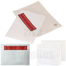 DOCUMENTS ENCLOSED WALLETS~Envelopes~Printed & Plain~A7~A6~A5~A4~1000~200~100