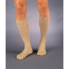 Jobst Relief 20-30 mmHg Compression Knee High Stockings, Silicone Band, Beige