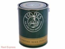 Fiddes Original Supreme Paste Wax Polish - 5 Litre (5L) * ALL COLOURS *
