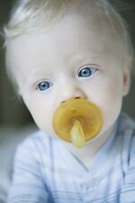 Zoe b Organic Natursutten  100% Natural Rubber Pacifier Lots of Sizes and Styles
