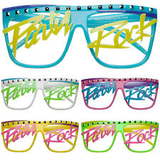 Party Rock Clubbing Rave LMFAO Shuffling Glasses 4430 Flat Top