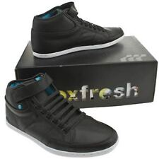 Boxfresh Swich Half Cab Black New Leather Mens Shoes Boots Cheap