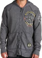 AFFLICTION Speed of Death zip Hooded sweatshirt jacket ~New w/Tags ~ A5265  $118