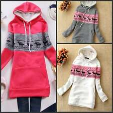 the new south Korean women's warm winter cotton jumper cap sweater jacket