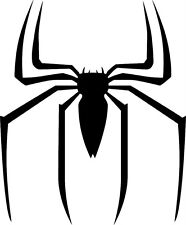 Choose Size - SPIDER MAN LOGO Decal Removable WALL STICKER Cool Home Decor