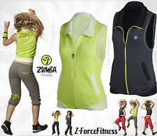 Zumba Fitness ~ AMOR SLEEVELESS VEST ~ New NWT ~ 2 Colors ~Most Sizes ~ REDUCED