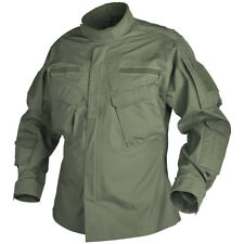 HELIKON MILITARY TACTICAL SHIRT CPU MENS PATROL ARMY JACKET AIRSOFT OLIVE GREEN