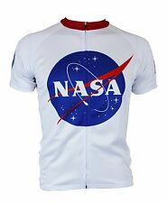 "NASA Apollo Cycling Jersey ""For All Mankind"" Hill Killer Apparel Great gift!"