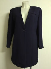 Ladies Navy Blue Jacket, Smart, for work or casual, by Allen & Douglas