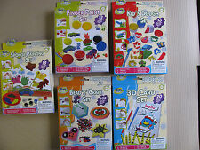 Kids Creative Play Set Paint Painting Beads Sponges Paper Learn & Play Child