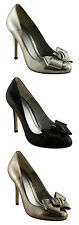 HOLLYWOOD HEELS KNOT LADIES/WOMENS HEELS/SHOES/PUMPS/COURTS/DRESS EUR SIZES!